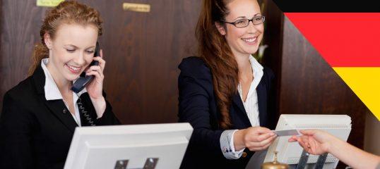 Learn German Online (Hospitality) - Level 1